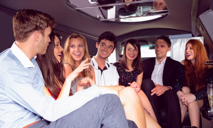 Young Group Prom Limo X